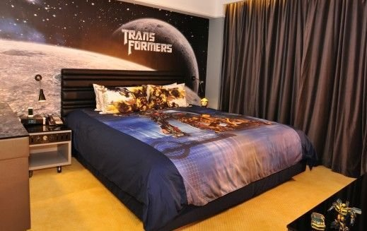 Best Transformers Themed Bedroom We Had A High Tech Coffee With Pictures