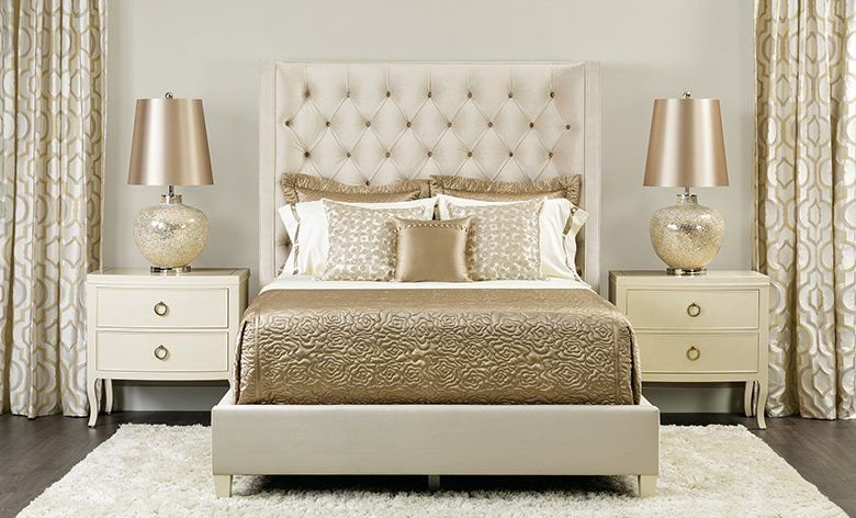 Best Gold And Cream Bedroom Glamourous Home Pinterest Cream Bedrooms Bedrooms And Gold With Pictures