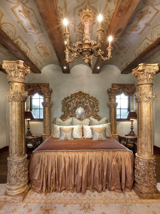Best Old World Bedroom On Pinterest Tuscan Bedroom Royal With Pictures