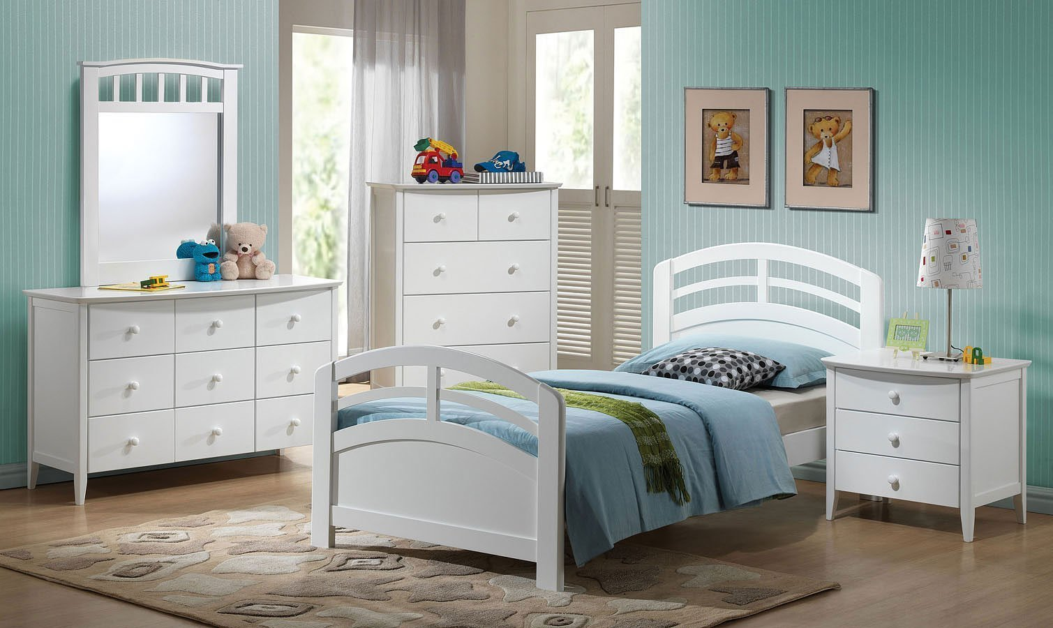Best San Marino Panel Bedroom Set White By Acme Furniture With Pictures