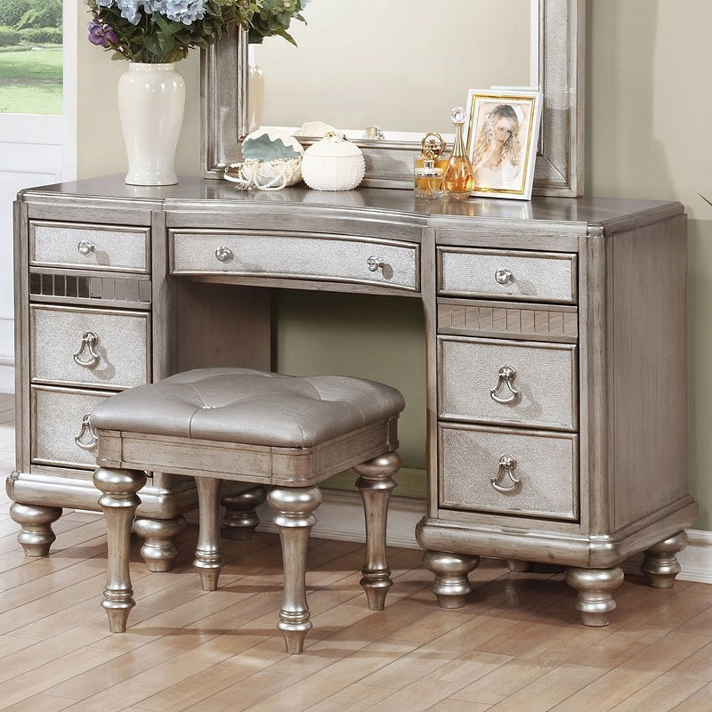 Best Bling Game Vanity Desk By Coaster Furniture 2 Review S With Pictures