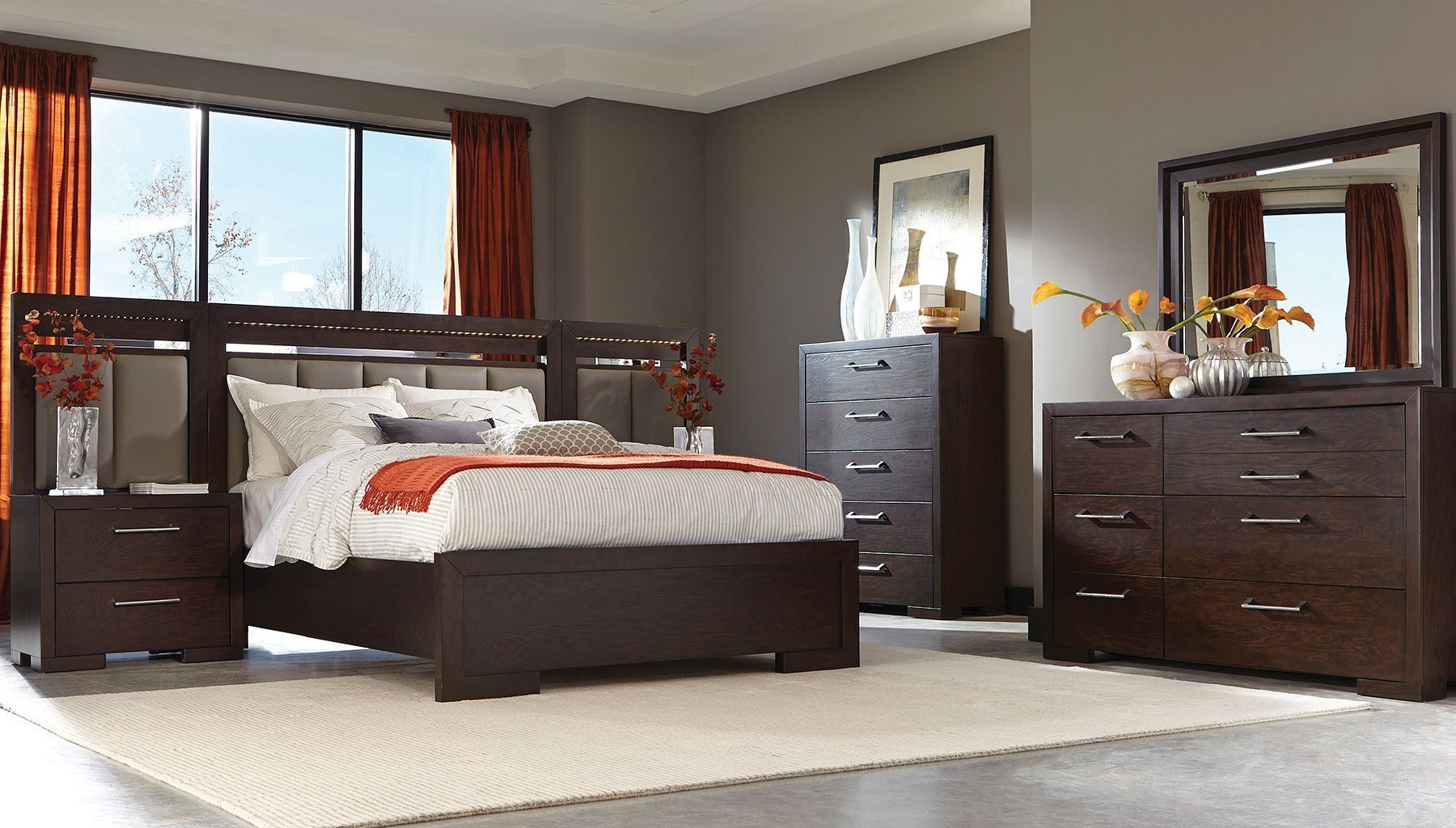 Best Berkshire Panel Bedroom Set By Coaster Furniture With Pictures
