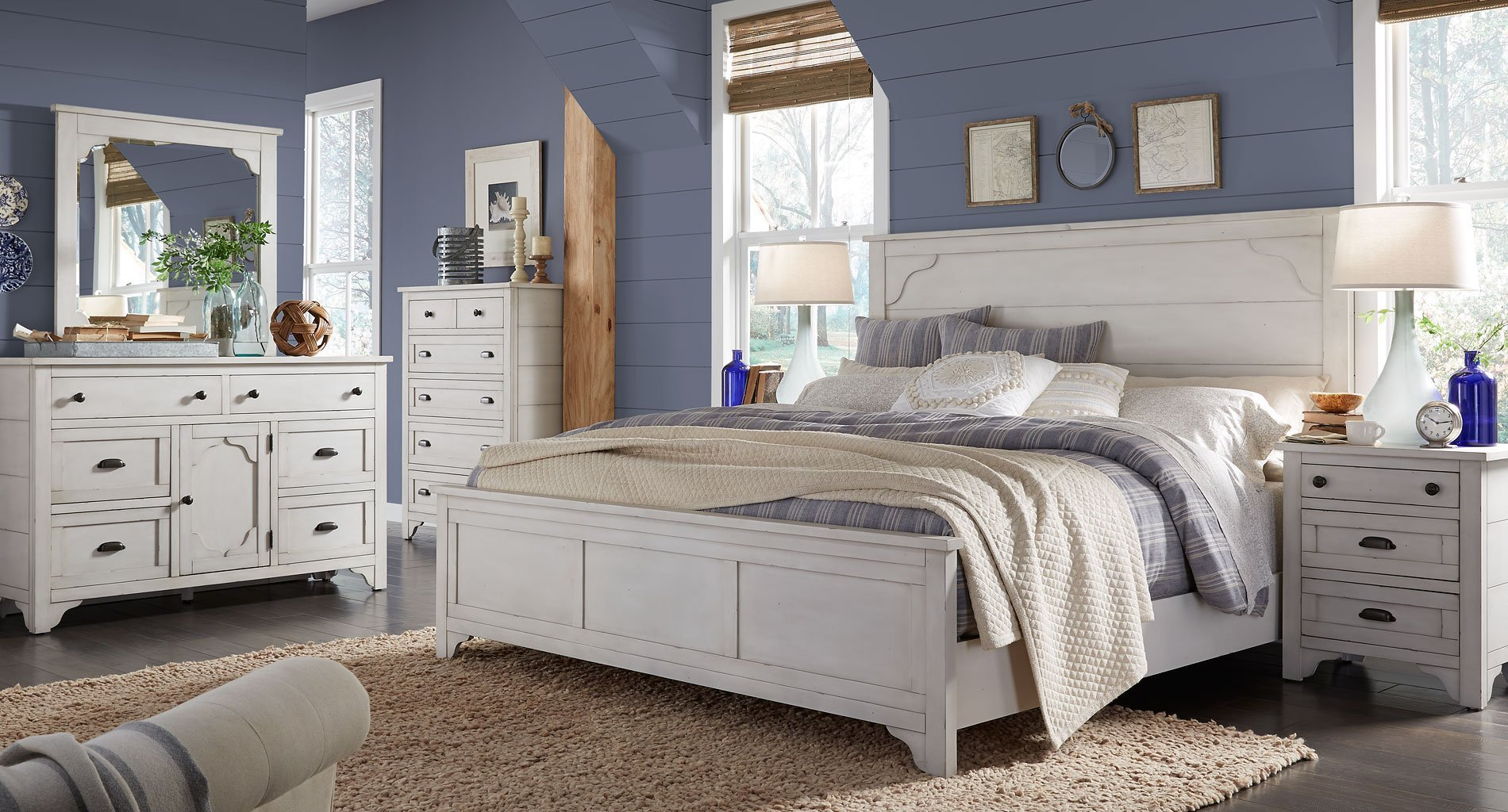 Best Coventry Lane Panel Bedroom Set By Magnussen Furniturepick With Pictures
