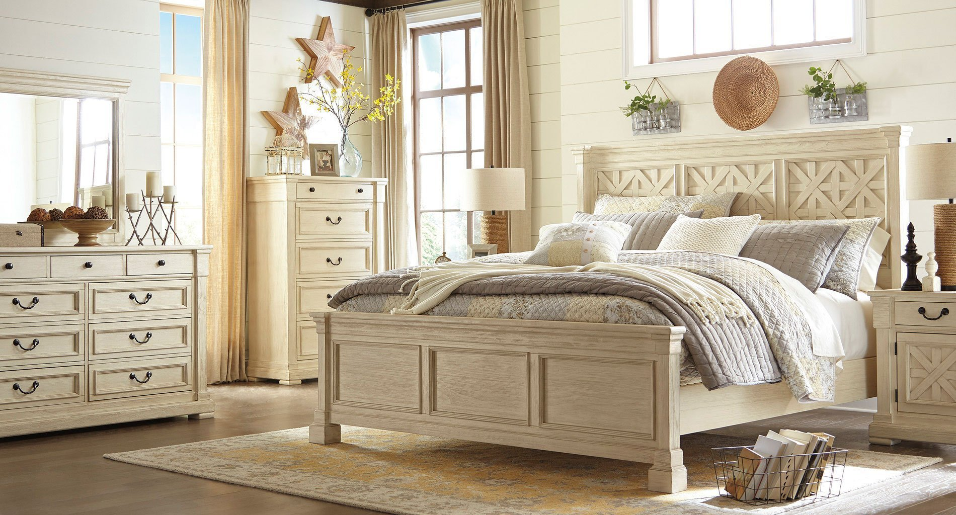 Best Bolanburg Panel Bedroom Set Bedroom Sets Bedroom With Pictures