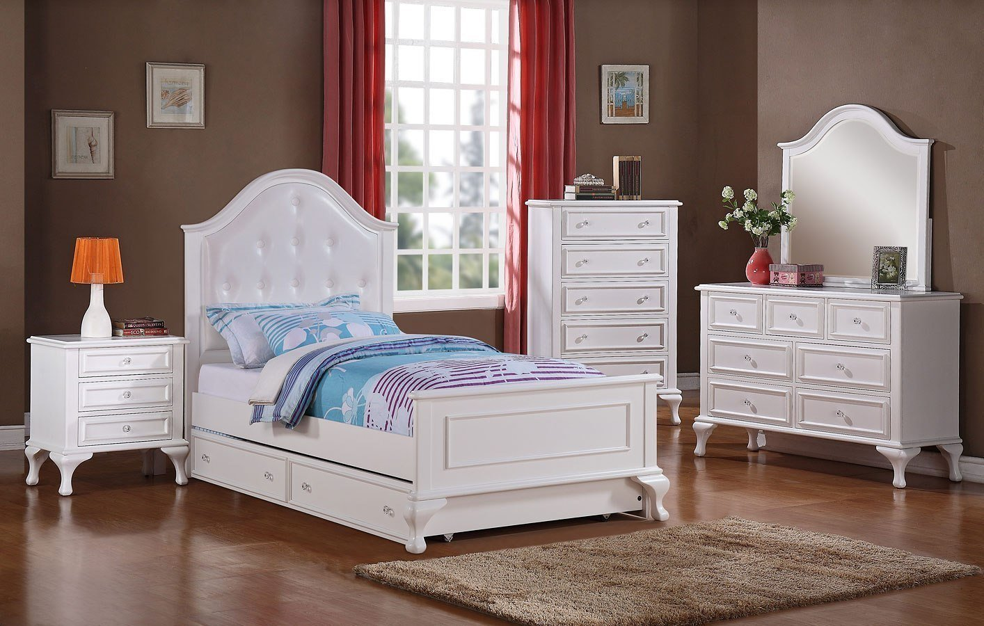 Best Jesse Youth Panel Bedroom Set By Elements Furniture With Pictures