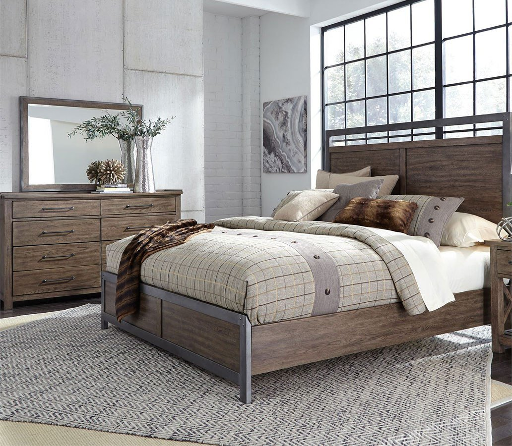 Best Sonoma Road Panel Bedroom Set Liberty Furniture With Pictures