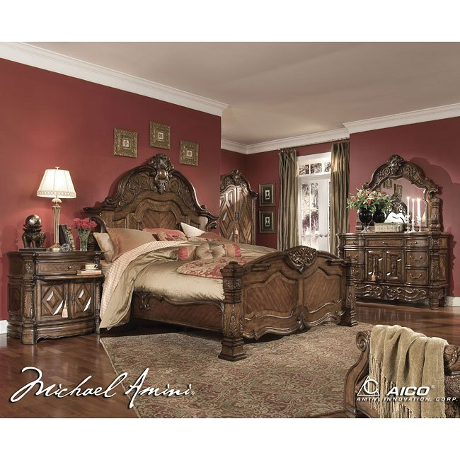 Best Windsor Court Bedroom Set Aico Furniture 1 Reviews With Pictures