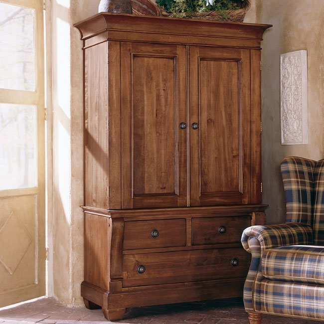 Best Tuscano Armoire Kincaid Furniture Furniture Cart With Pictures