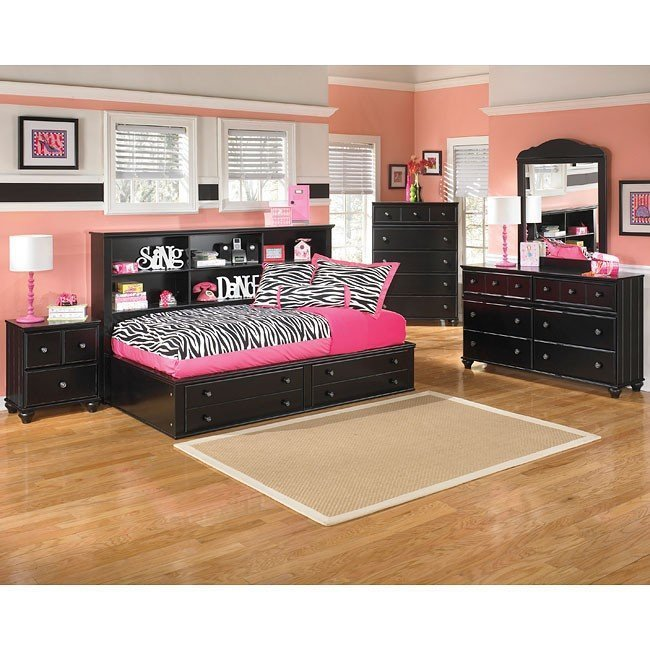 Best Jaidyn Youth Bookcase Bedroom Set Signature Design With Pictures