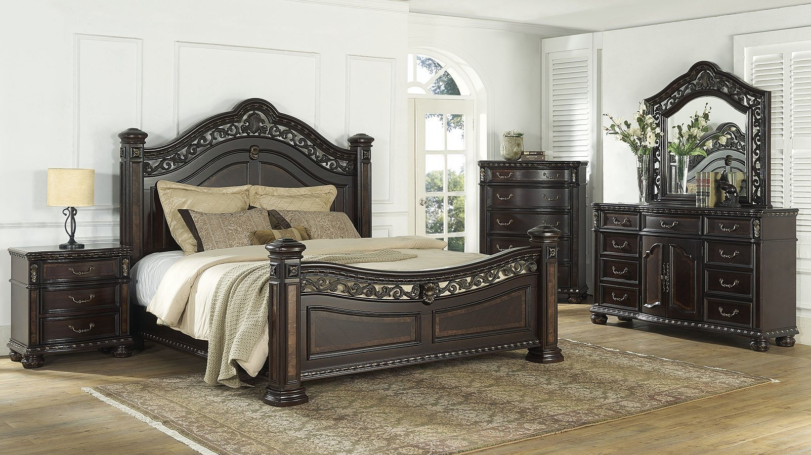 Best Monte Carlo Poster Bedroom Set Steve Silver Furniture With Pictures