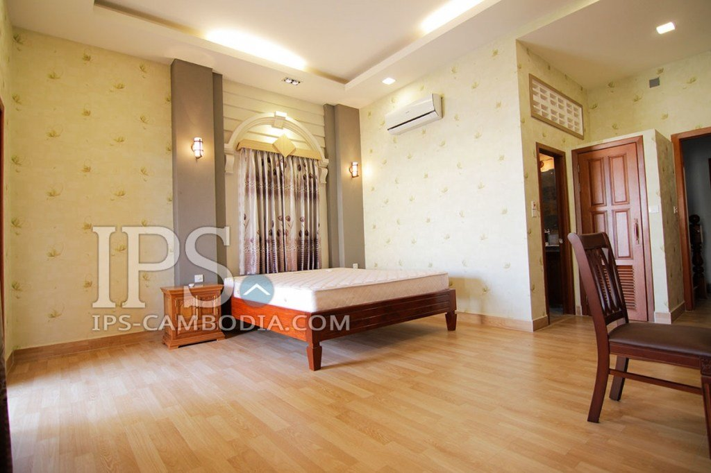 Best 4 Bedroom Townhouse For Rent In Phsar Doeum Thkov Phnom With Pictures