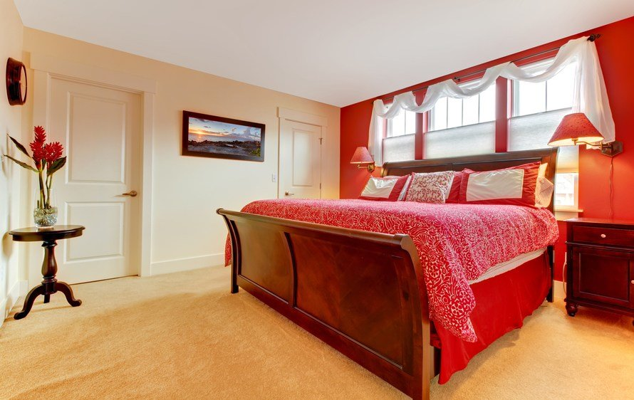 Best 60 Red Room Design Ideas All Rooms Photo Gallery With Pictures