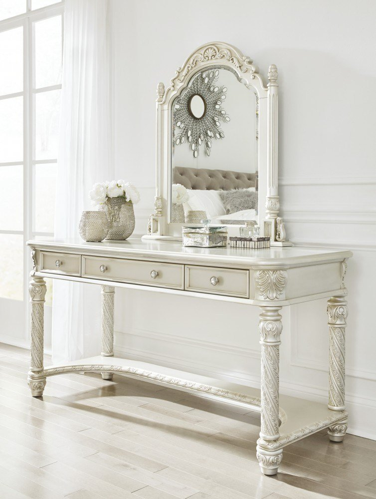 Best Cassimore Pearl Silver Vanity Mirror B750 22 25 With Pictures