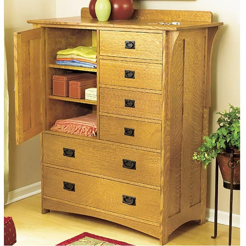 Best Arts And Crafts Dresser Woodworking Plan From Wood Magazine With Pictures