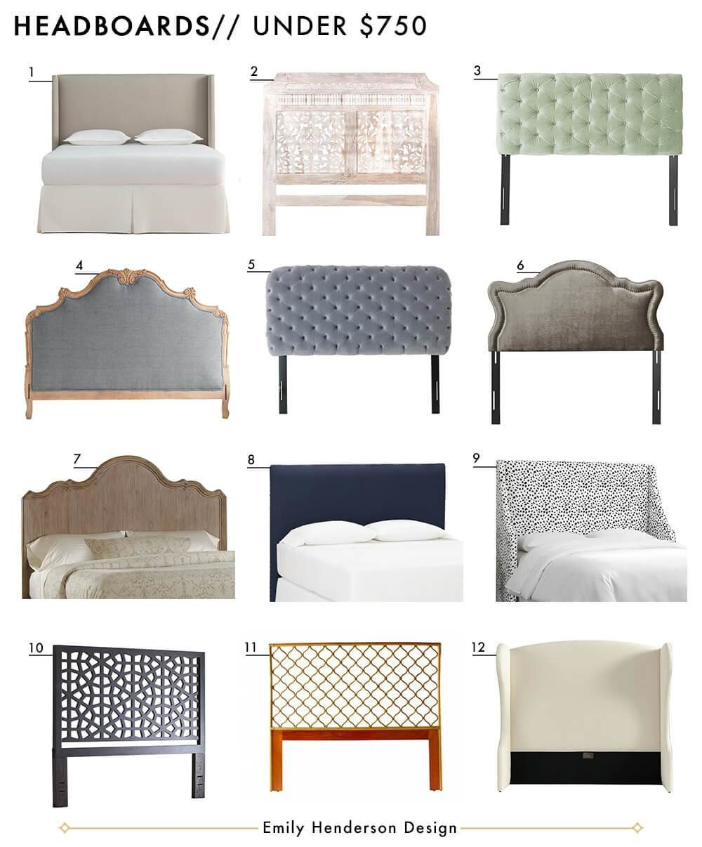 Best 72 Affordable Headboards At Every Price Point Emily With Pictures