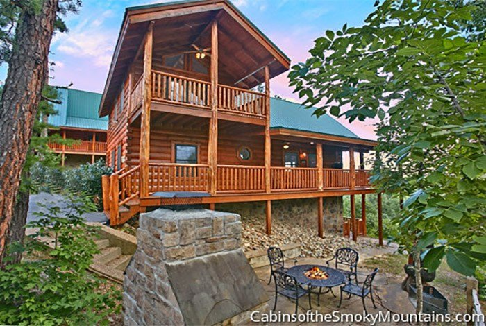 Best Pigeon Forge Cabin Running Bear 4 Bedroom Sleeps 14 With Pictures