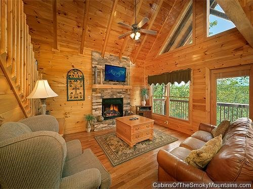 Best Pigeon Forge Cabin Mountain Elegance 2 Bedroom Sleeps 6 With Pictures