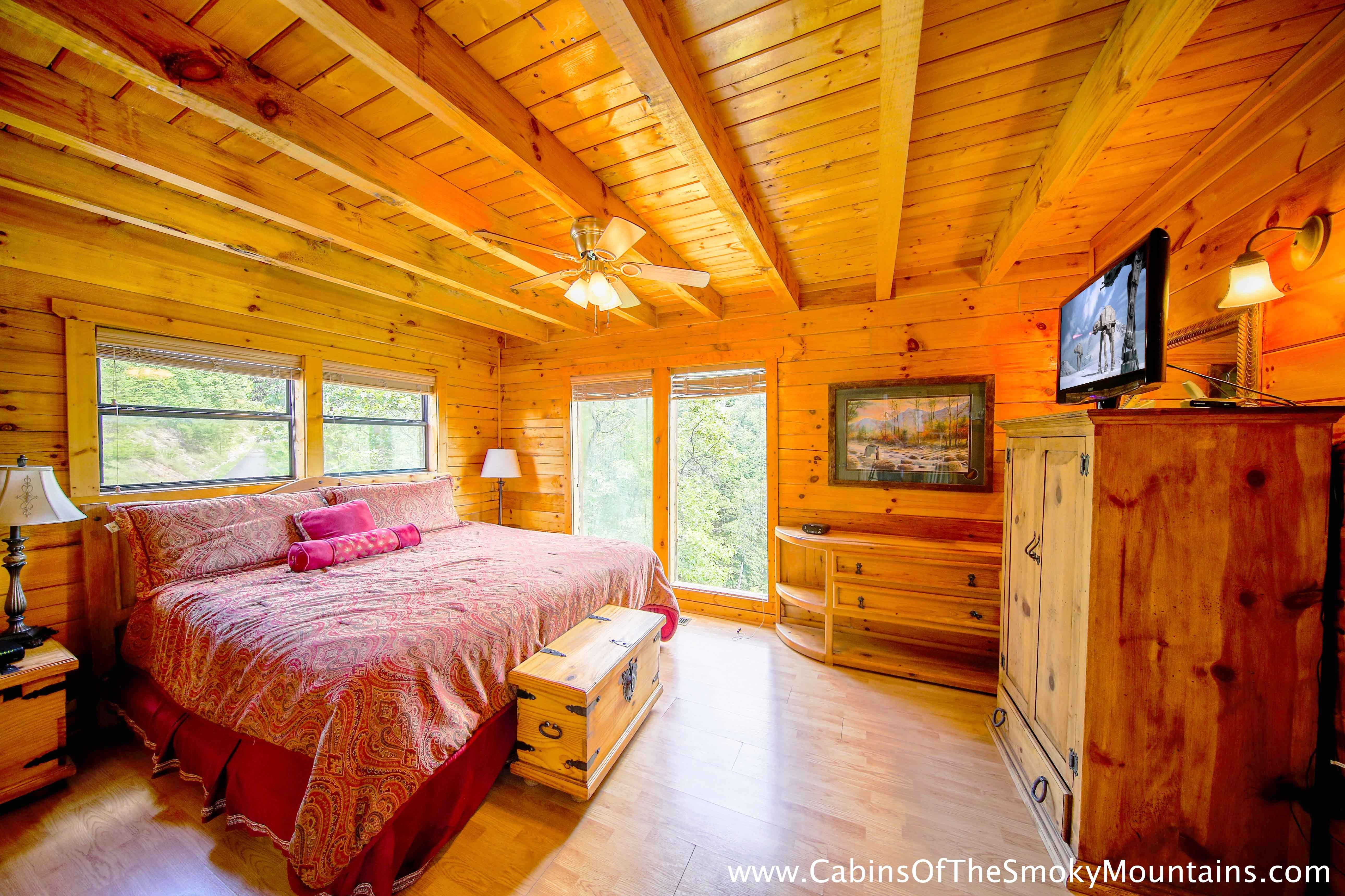 Best Pigeon Forge Cabin Chalet D Mont 2 Bedroom Sleeps 6 With Pictures