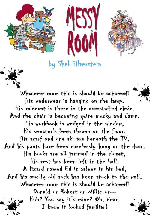 Best What Is The Meaning Of Messy Room By Shel Silverstein With Pictures