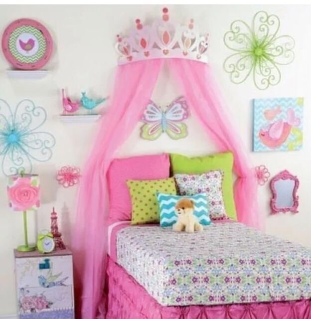Best Princess Room Decor For Girls Large Pink Metal Crown With Pictures