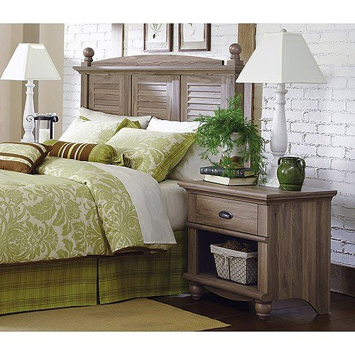 Best Sauder 415002 04 Harbor View Headboard Night Stand With Pictures