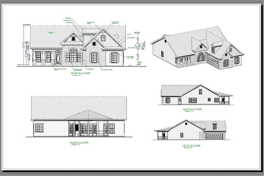Best 3 Bedrm 1831 Sq Ft Craftsman House Plan 109 1013 With Pictures