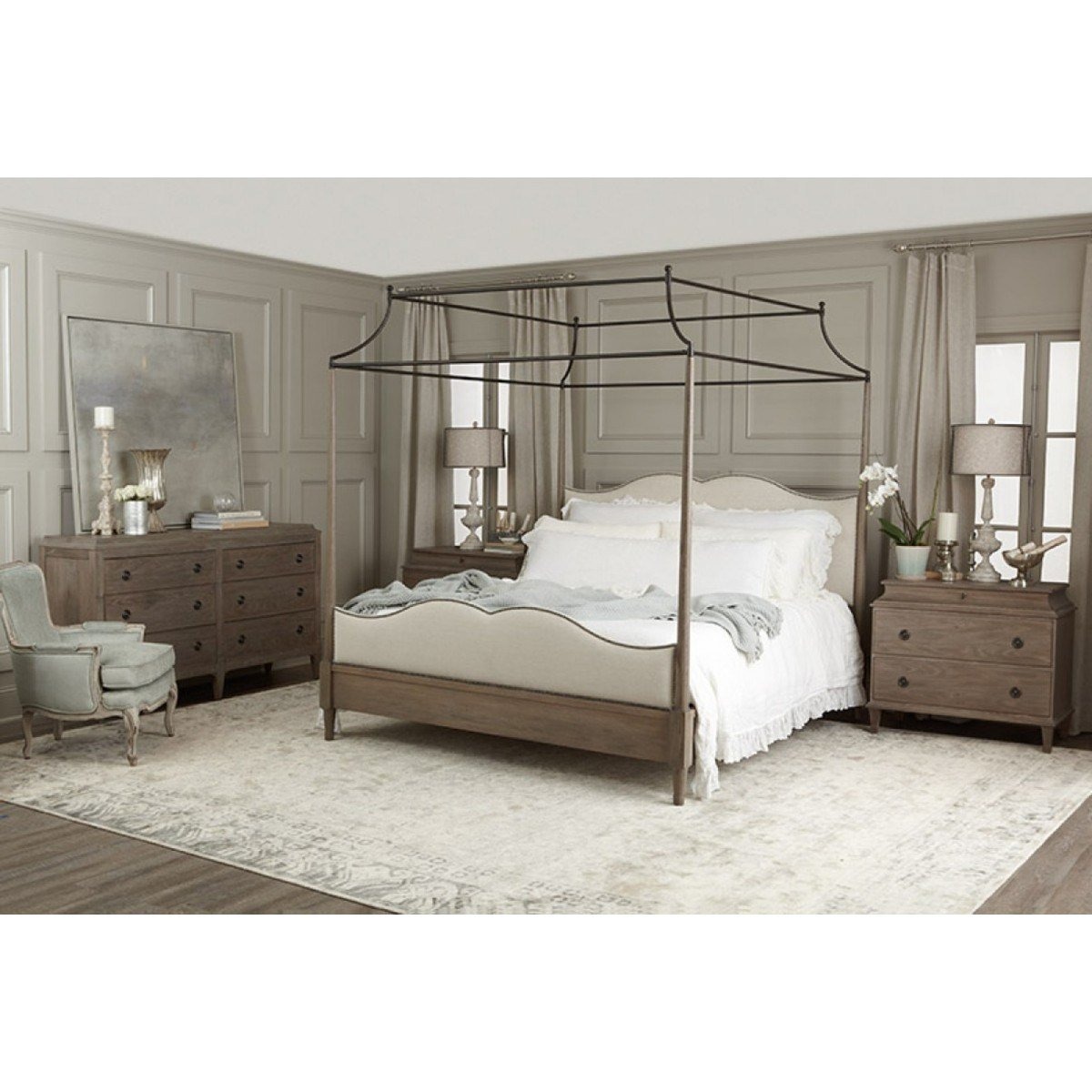 Best Bernhardt Auberge Poster With Canopy Bedroom Set With Pictures