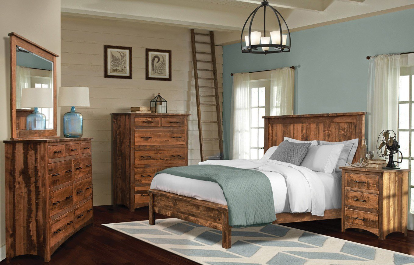 Best Uptown Barn Floor Mission Bedroom Collection Weaver With Pictures