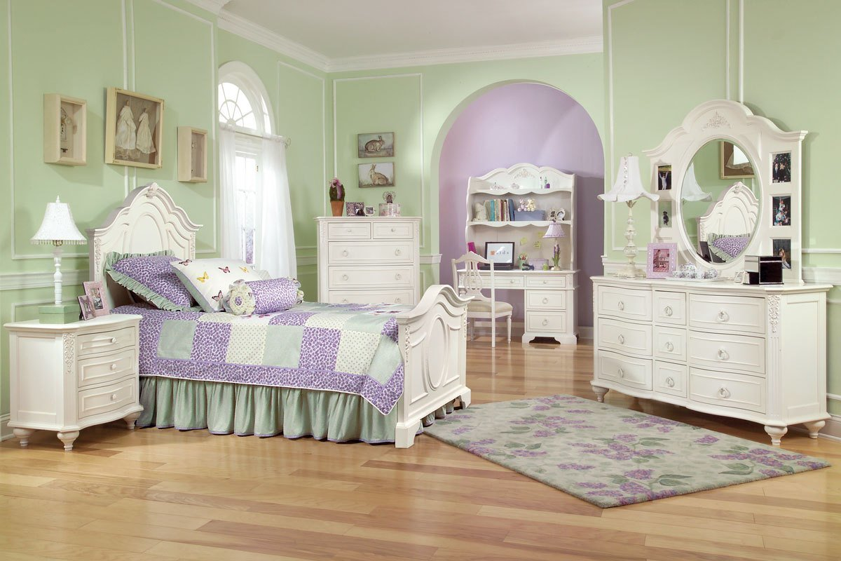 Best Girls Bedroom Sets Combining The Cute Aspects Amaza Design With Pictures