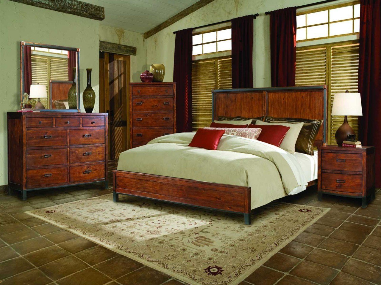 Best Breathtaking Rustic Bedroom Furniture Sets With Warm With Pictures