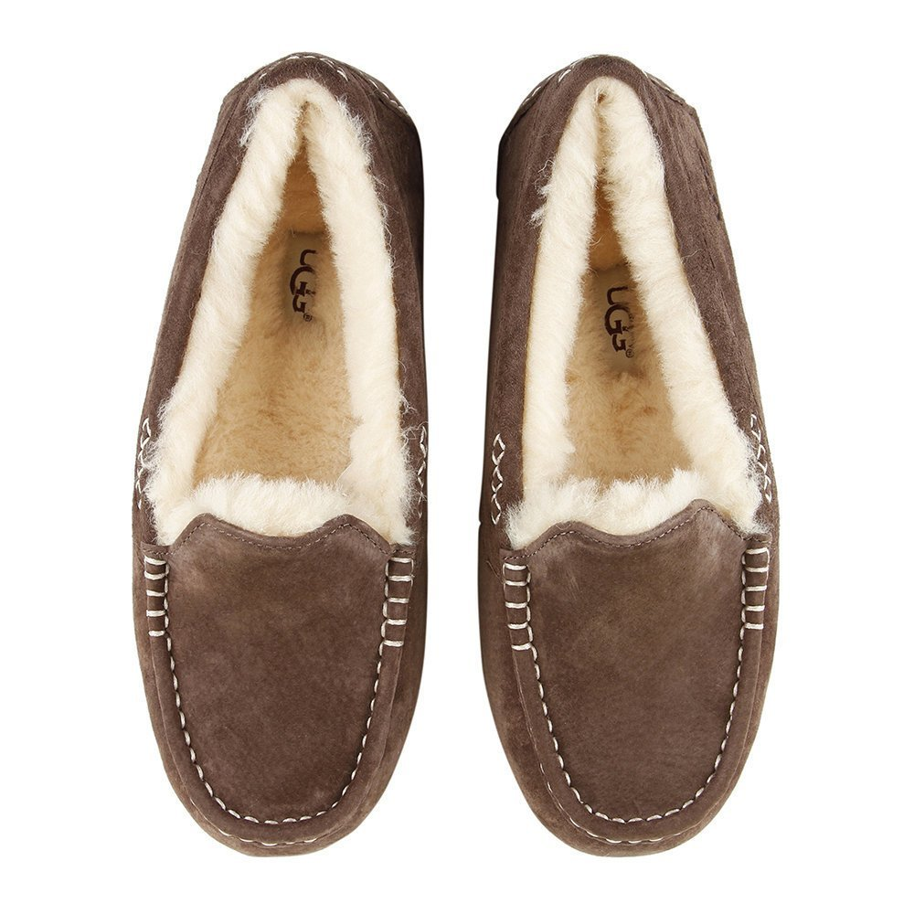 Best Buy Ugg® Women S Ansley Slippers Chocolate Amara With Pictures