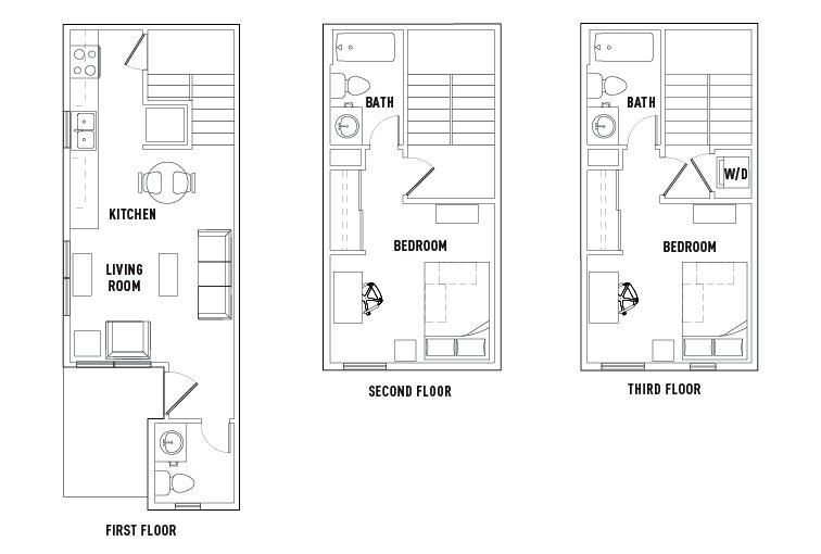 Best Floor Plans The Callaway House College Station Student With Pictures