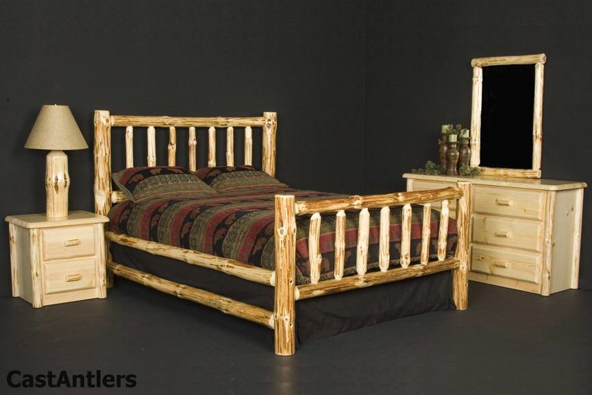 Best Rustic Log Bedroom Set With Pictures