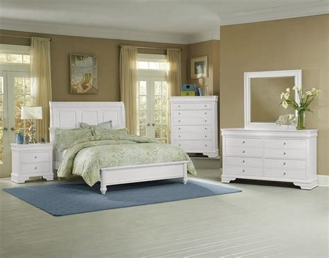 Best Vaughan Bassett French Market Soft White 384 Bedroom Group With Pictures