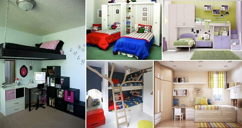 Best 15 Amazing Space Saving Designs For Your Kids Bedrooms With Pictures