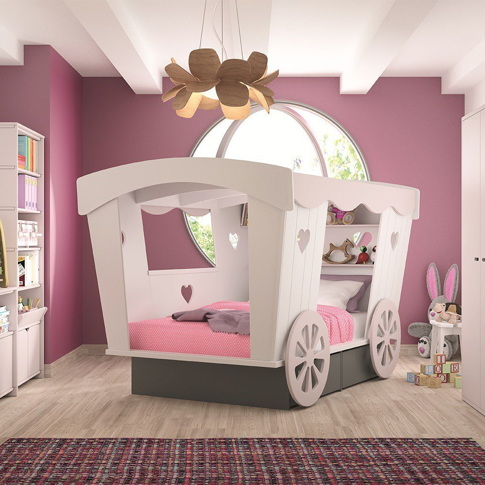 Best Kids Princess Carriage Bed With Pictures