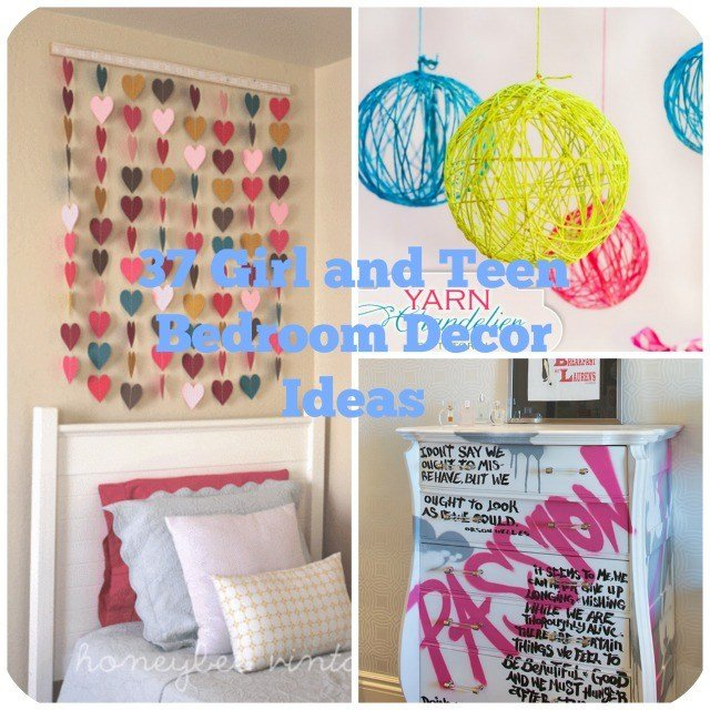 Best 37 Diy Ideas For Teenage Girl S Room Decor With Pictures