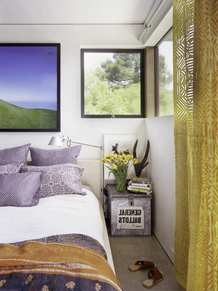Best Yellow And Purple Bedroom Bedroom Mediterranean With Berg With Pictures