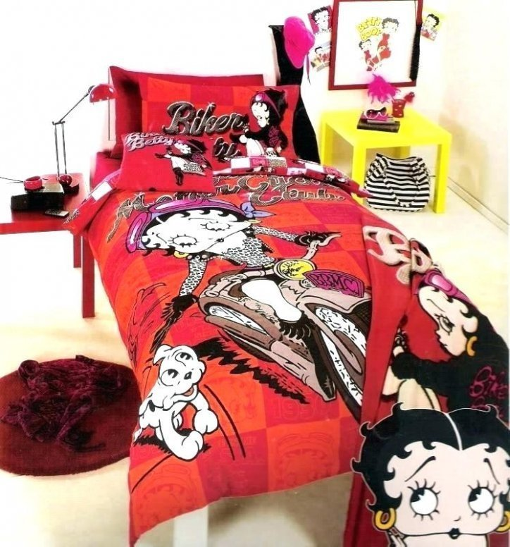 Best Betty Boop Comforter Set Blogclaire Dco Com With Pictures