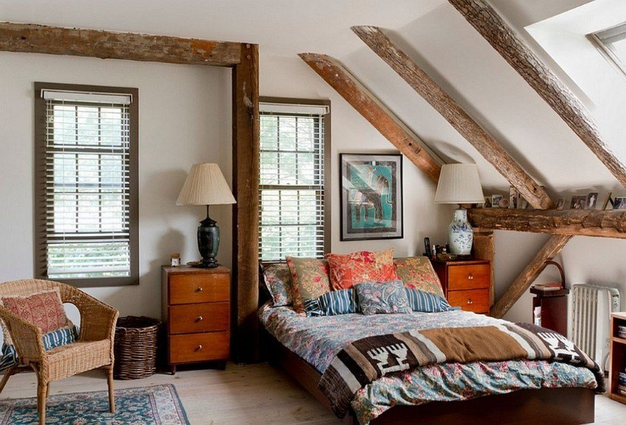 Best Nice Rustic Master Bedroom With Vintage Side Vanity Also With Pictures