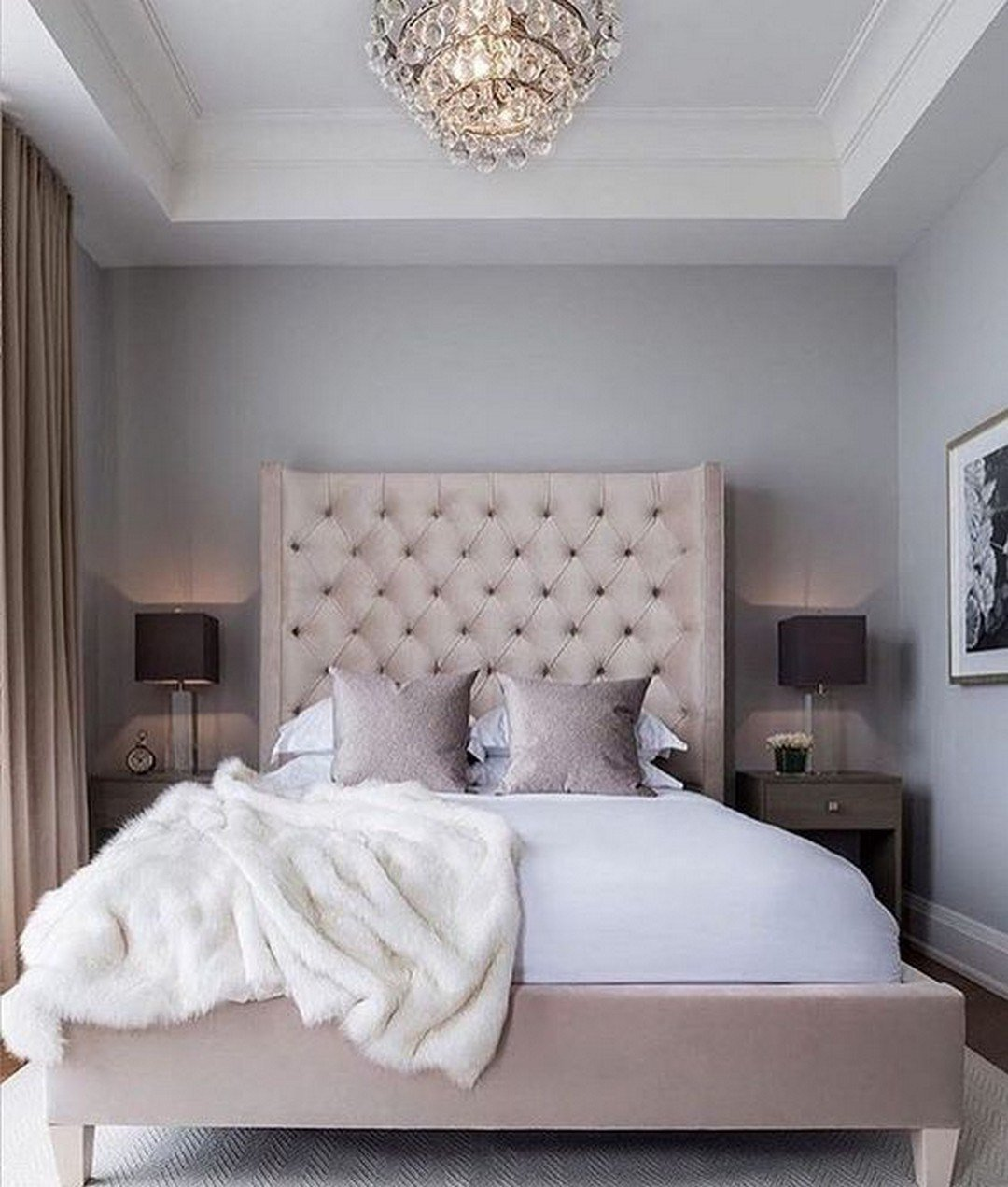 Best Gorgeous Classic Feminine Glam Bedroom Ideas 14 Decomagz With Pictures