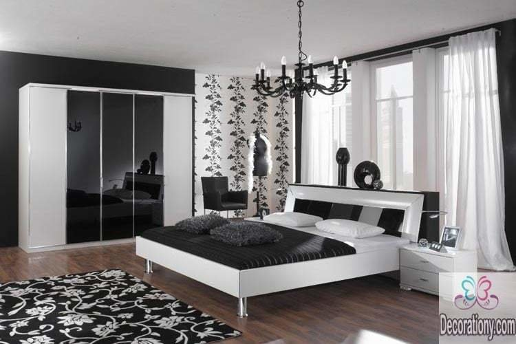 Best 35 Affordable Black And White Bedroom Ideas Bedroom With Pictures