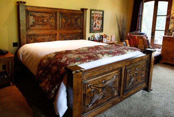 Best Colonial Headboard Luis Quince Bed Demejico With Pictures