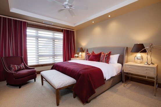 Best How To Decorate Your Bedroom With Marsala 20 Ideas Digsdigs With Pictures