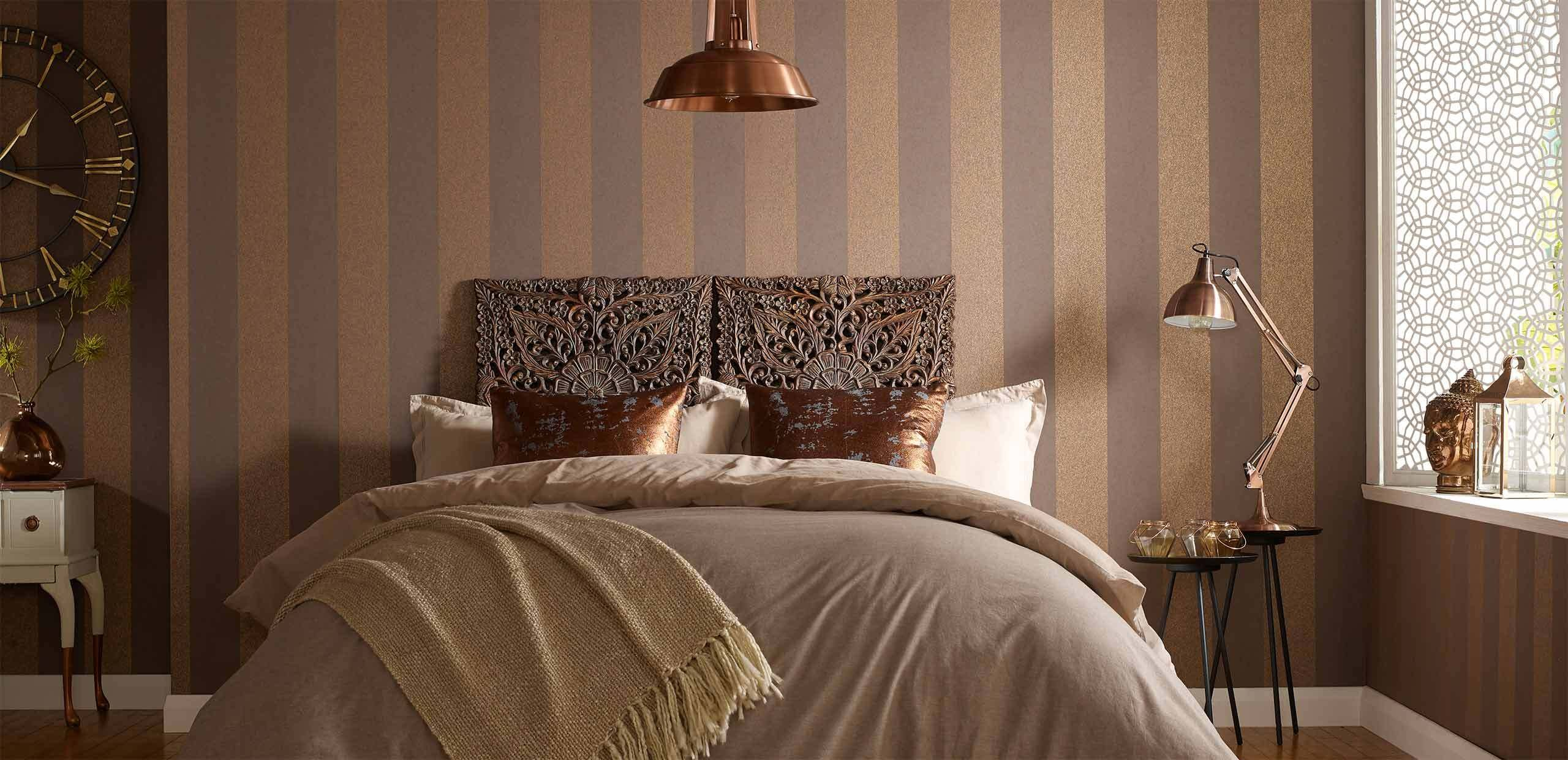 Best Bedroom Wallpaper Ideas Bedroom Wallpaper Feature Wall Graham Brown With Pictures