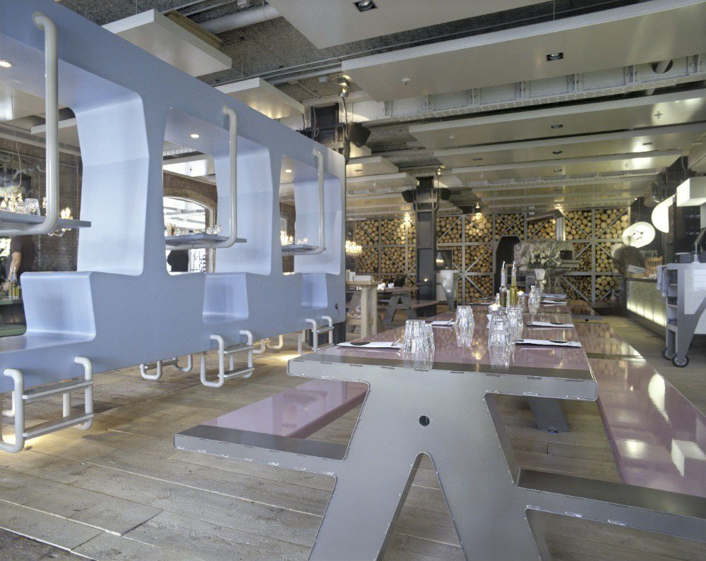 Best Fabbrica Restaurant – A Romantic Canteen Idesignarch With Pictures