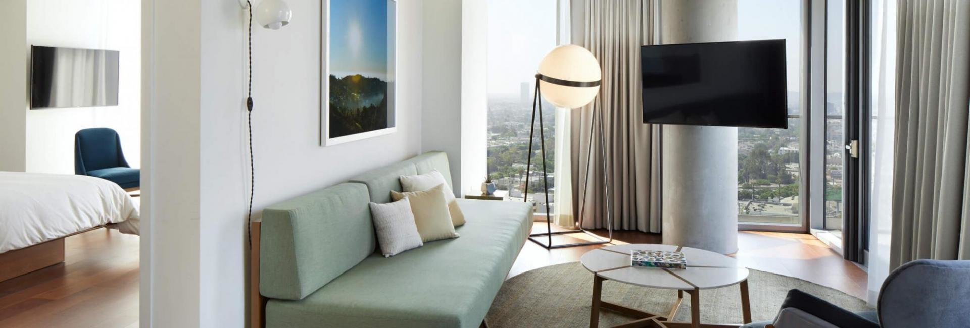 Best 2 Bedroom Suite The Jeremy West Hollywood Hotel With Pictures