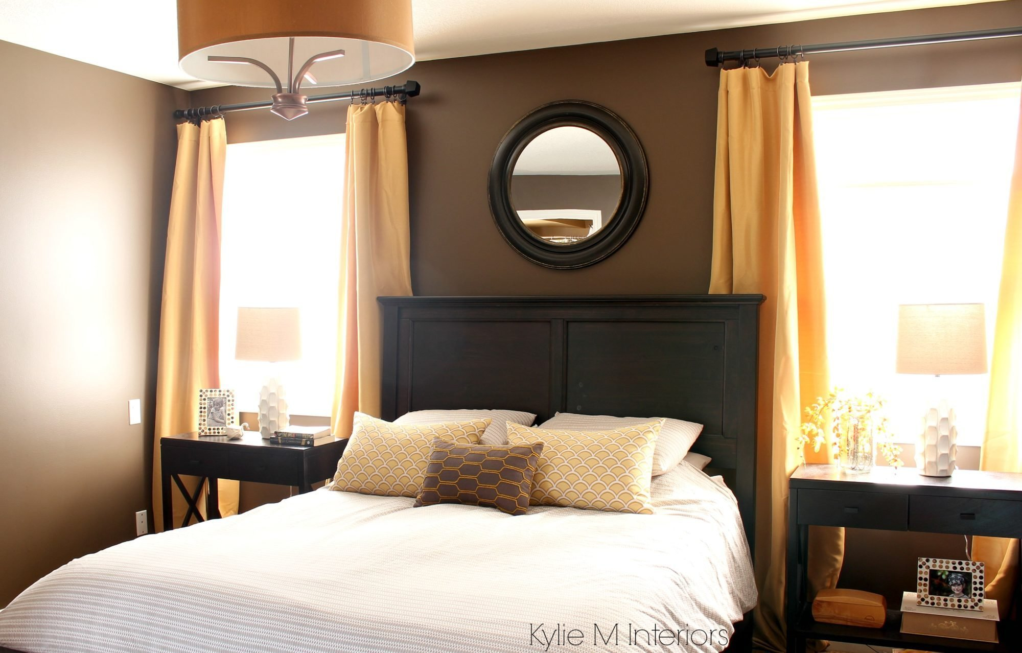 Best Dark Bedroom Paint Colour Benjamin Moore Brown Horse With With Pictures