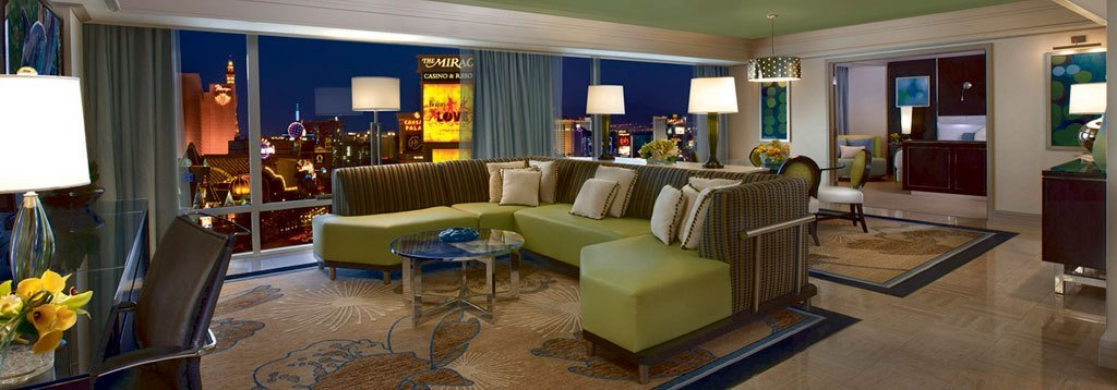 Best Las Vegas Mirage 1 2 Bedroom Suite Deals With Pictures