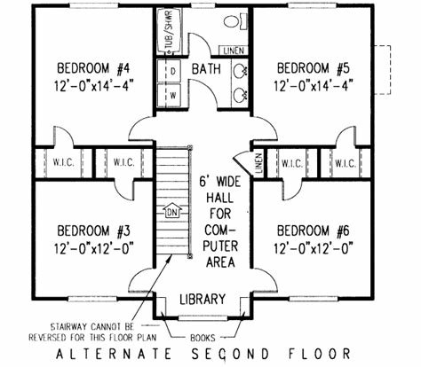 Best Country House Plan 6 Bedrooms 3 Bath 2750 Sq Ft Plan With Pictures